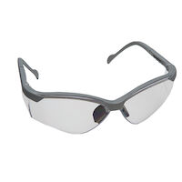 9902728 See-Breez Glasses Platinum, with Clear Lens, 3560PL