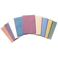 "9529338 Tidi Towels 3-Ply Poly, 13""x 18"", Teal, 500/Pkg, 917410"