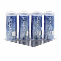 9532438 Microbrush Tube Series Regular, Blue, 100/Tube, 4/Pkg, MRB400