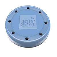 9558538 Round Magnetic Bur Blocks 8-Hole, Baby Blue, 31825