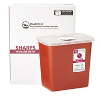 3170738 Sharps Recovery Dental Containers 2 Gallon, Each, 3879