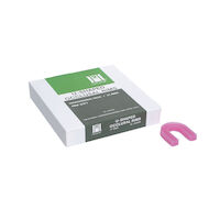 8440348 Hygenic U-Shaped Occlusal Rim Wax Lab Package, 21/Pkg., H04030