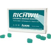 9508448 Richwil Crown & Bridge Remover 50/Box, 33800
