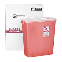 3170748 Sharps Recovery Dental Containers 3 Gallon, Each, 3884