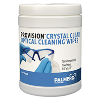 9200058 ProVision Crystal Clear Optical Cleaning Wipes Pop-Up Wipes, 160/Canister, 3534