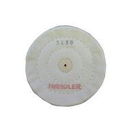"5251258 Cotton Polishing Buffing Wheels Cotton Buff 5"" 30 PLY 3 Row,6/Box,B105-303-6"