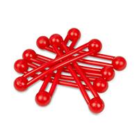 9907658 Pro-Ties Red, 6/Pkg., 650102R