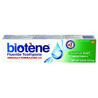 0074068 Biotene Toothpaste GentleMint, Gel, 4.3 oz., 12/Pkg., 10070
