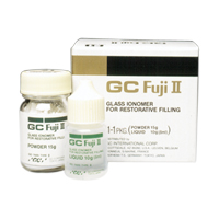 9537168 GC Fuji II LC Powder, Blue, 35 g, 000182