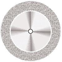 9590268 Superflex NTI Diamond Discs D911H-190, Medium, Double Sided