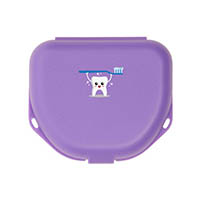 "9538268 Imprinted Retainer Boxes 1.5"", Neon Purple, 24/Pkg., 25P550R"