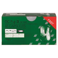 9538568 GC Fuji IX GP FAST Assorted, Capsule, 48/Box, 425060