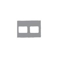9522668 Klear-Vue Cardboard 2H, 100/Box, 25203