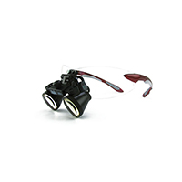 """9900968 Loupes Red Frame, 3.5x Kit, 16""""-20"""" Distance, 1-5009"""