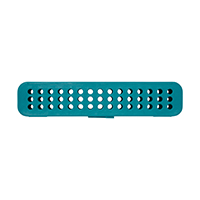 9537578 Compact Steri-Container Teal, Container, 50Z905J