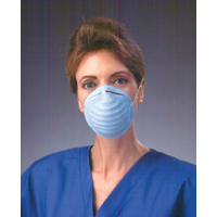 9900188 Standard Cone Mask Blue, 50/Box, 00152