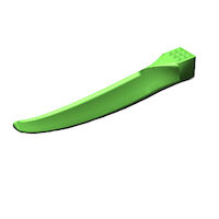 8390288 G- Wedge Large Refill, Green, 300/Box, GWGR