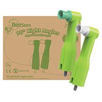 9549888 BeeSure 90° Right Angles Regular Cup, 100/Box, BE601RA