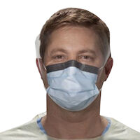 9900198 FLUIDSHIELD Procedure Mask Blue, Level 3, 25/Box, 00146