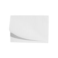 "5250598 Disposable Patient Bibs Disposable Patient Bibs,13"" x 18"",125/Pkg. ,White,27406"