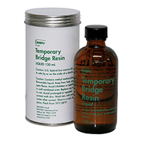 8133998 Temporary Bridge Resin Liquid, 120 ml, 666005