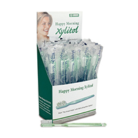 9503209 Happy Morning Toothbrush with Xylitol Paste, 50/Pkg., 605496