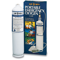 3471019 Lif-O-Gen Disposable Replacement 15-minute Oxygen Cylinder, 31- 01- 0510