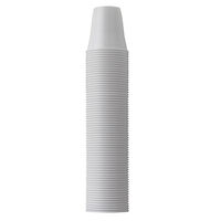 4952029 Monoart Plastic Cups White, 166 ml, 100/Pkg., 21410001