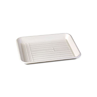 9542139 ECOsply Biodegradable Instrument Trays X-Small, Instrument Trays, 250/Pkg., 7124108