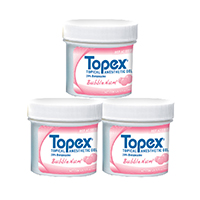 9521639 Topex Topical Anesthetic Gel Bubble Num, 100 g, 31068