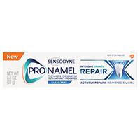 0074049 Sensodyne ProNamel Toothpaste Intensive Enamel Repair, Clean Mint, 0.8 oz., 36/Box, 88759A