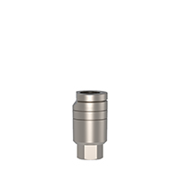 4970249 Straight Cemented Abutments Short Thin Cementing Post, 7 mm, AGM-104S