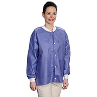 9510649 Extra Safe Jackets Small, Blueberry, 10/Pkg, 3630BBS