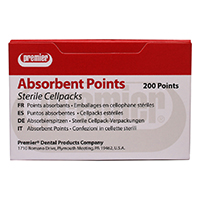 9329949 Absorbent Points X-Coarse, 200/Pkg., 9055106