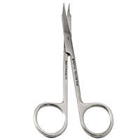 5021759 Stainless Steel Scissors Goldman-Fox Curved, 12.5 cm, T813