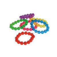 5250269 Colorful Bead Bracelets 36/Pkg.,JV419