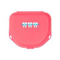 "9538269 Imprinted Retainer Boxes 1.5"", Neon Pink, 24/Pkg., 25P550S"