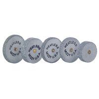 9522489 Mizzy Heatless Wheels #9, Gray, 50/Pkg., 1900180